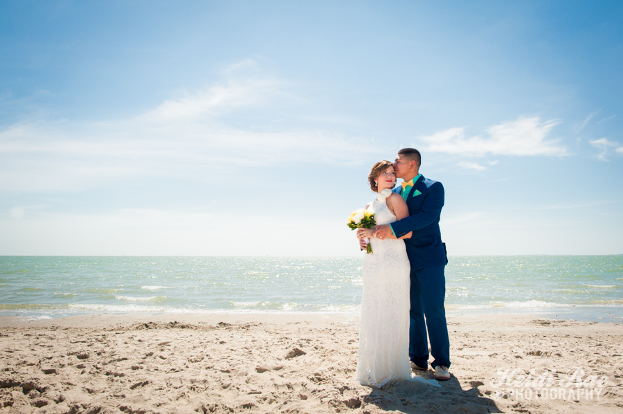 Emerald Beach Gaslight Square Wedding