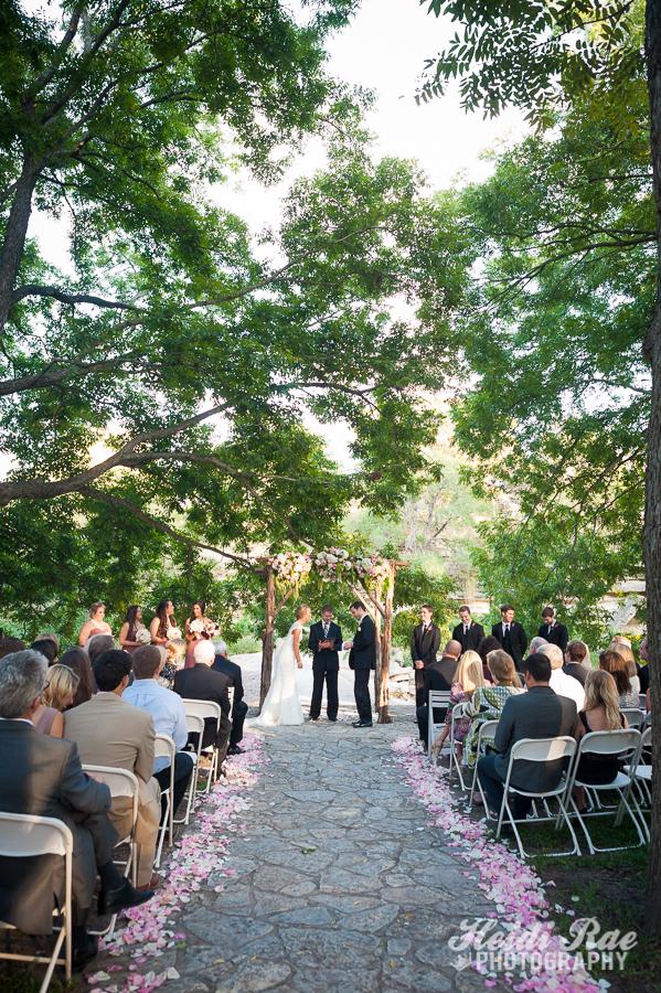 Pecan Grove Pavillon Wedding Vows