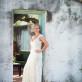 Bride by doorway