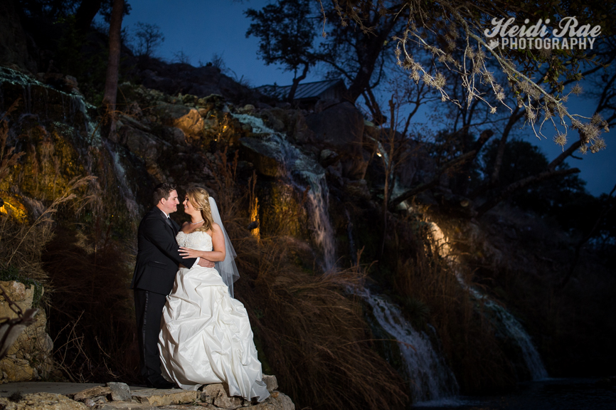 Lodge at Bridal Veil Falls Wedding Photos