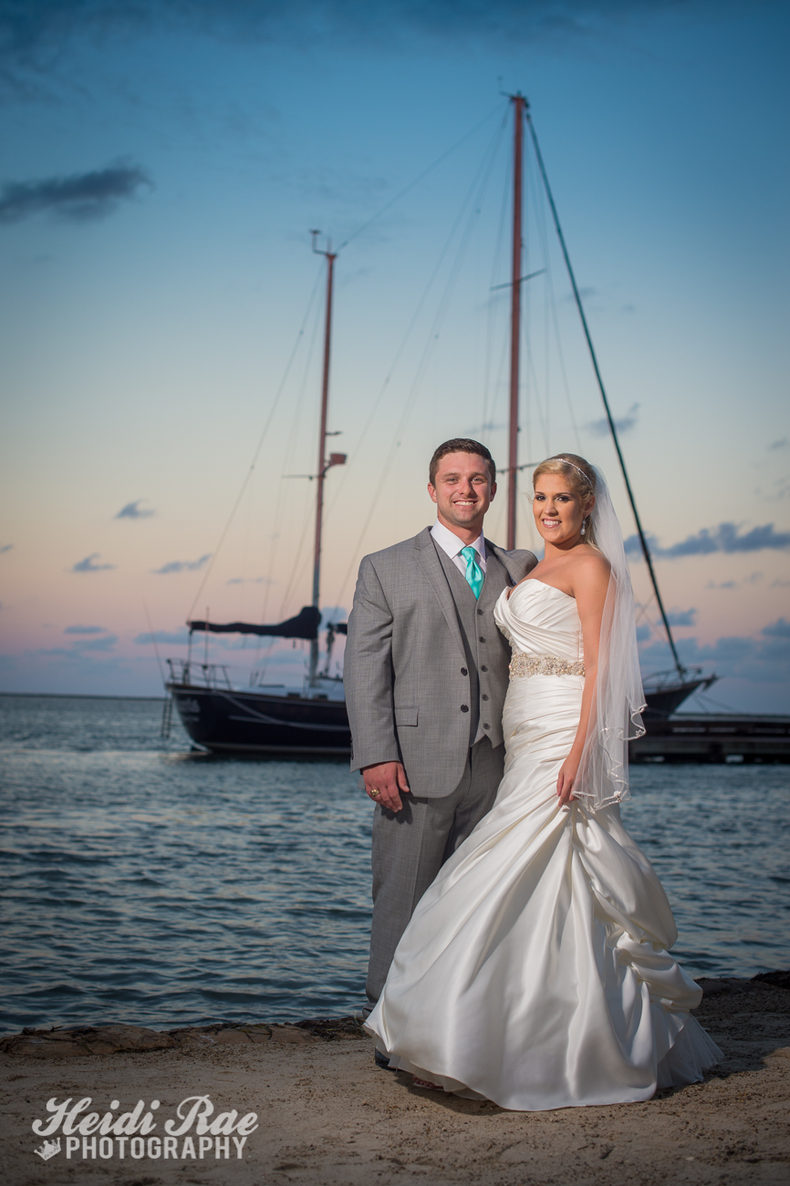 Wedding Day Portrait at Mansion by the Sea Wedding