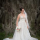 Bride in front of Spanish Moss