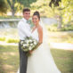 Cypress Falls Event Center Wedding Day Portrait