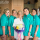 Bridesmaids in Fishing Shirts