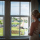 Bride Looking Over Venue