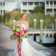 Bride Portrait on Pier