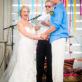 Bride Winking