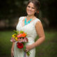 Bridal Photo with Bouquet in San Antonio