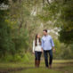 Husband and Wife Walking down Path in Refugio, TX