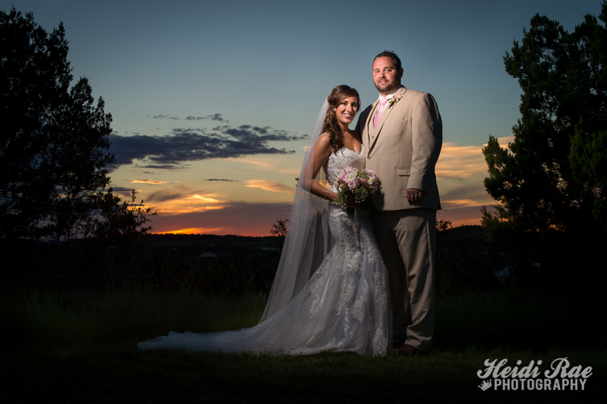 Terrace Club Wedding Day Portrait