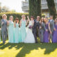 Wedding Party Pic in the Gardens