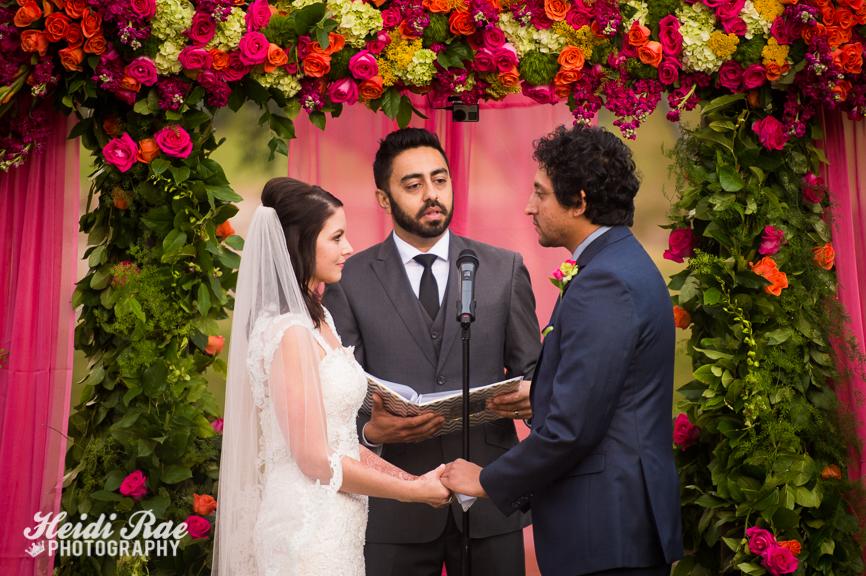 Wedding Vows at TPC Summerlin in Las Vegas