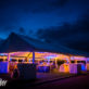 Reception Tent with Lights