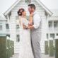 Bride and Groom at Cinnamon Shore