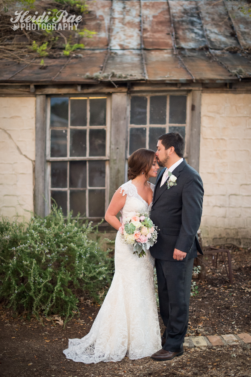 Bride and Groom portrait outdoors